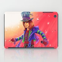 mad hatter iPad Cases featuring The Mad Hatter by mishybelle