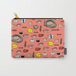 Sushi Zo Pattern Carry-All Pouch
