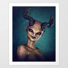 Female Demon Art Print