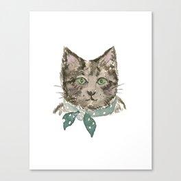 Mr. Grayson the Cat Canvas Print