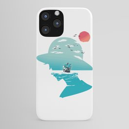 The King of Pirates iPhone Case