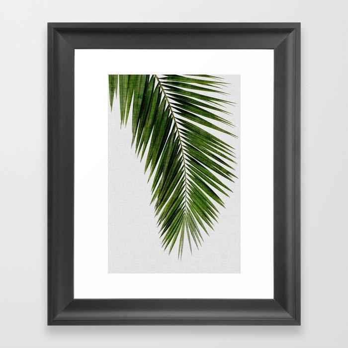 Palm Leaf I Gerahmter Kunstdruck