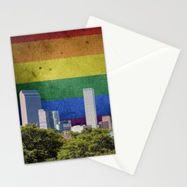 Denver, Colorado LGBT Stationery Cards