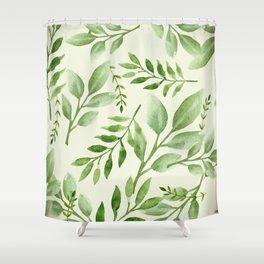 Seasonal Leaves Shower Curtain