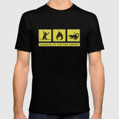 Hazards of the Fire Swamp Mens Fitted Tee Black SMALL