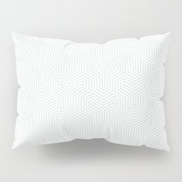 Geometric Y Shaped Pattern Pillow Sham