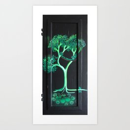 tree of pearblossom Art Print