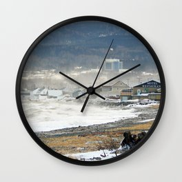 The Sea and the Cove Wall Clock