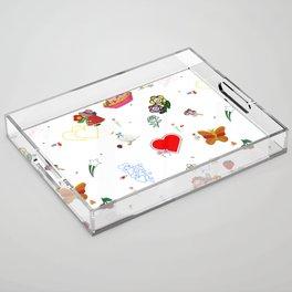 Favorites Acrylic Tray
