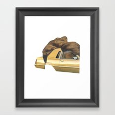 hair piece #2 Framed Art Print