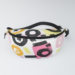 Perception Abstract 002 Fanny Pack