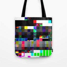 Beads Glitch Tote Bag