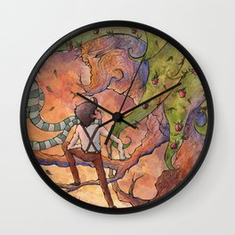 Ode to The Giving Tree Wall Clock