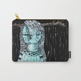 Raining Branches Carry-All Pouch