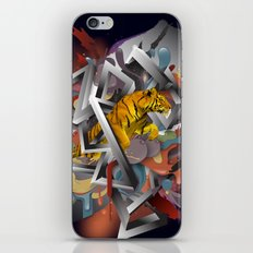 Year of The Tiger iPhone & iPod Skin