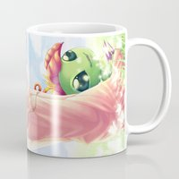 digimon Mugs featuring Digimon Dream Mimi by valsharea