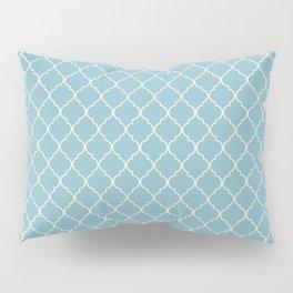 Damask Blue Petit Four Pillow Sham