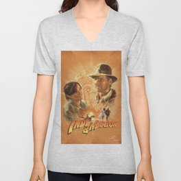 Indy with Marion Unisex V-Neck