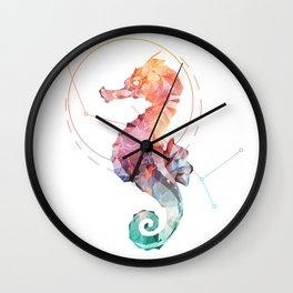 Spirit of the Seahorse Wall Clock