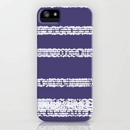 Sequenced iPhone Case