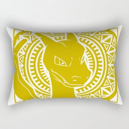 Stained Glass - Pokémon - Charizard Rectangular Pillow