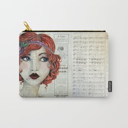 Eyes of Blue Carry-All Pouch