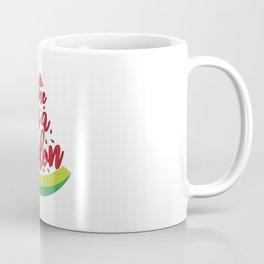 Funny Summer Sun Beach Holiday Fruity Melone Gift Coffee Mug