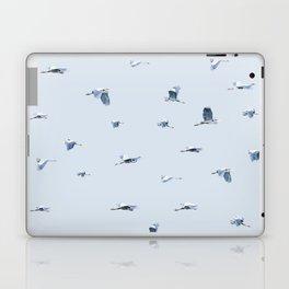 Blue Blue Heron Laptop & iPad Skin