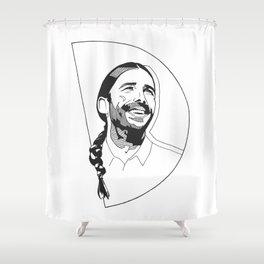 Queer Eye's Jonathan Van Ness Shower Curtain