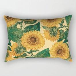 Helianthus Annuus Rectangular Pillow