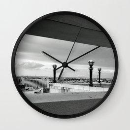 Mexico from El Paso Wall Clock