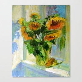 Sunflowers # 3 Canvas Print