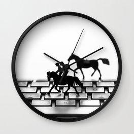 Corrida em teclados  Wall Clock