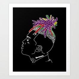 Hip Hop Lover Art Print