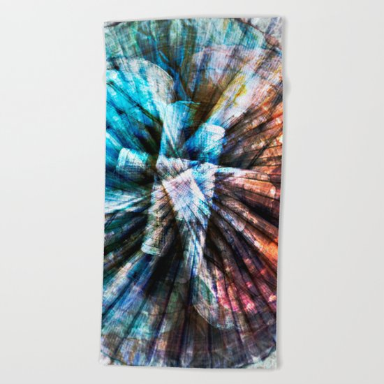 ARCHAIC MARITIME STRUCTURES Beach Towel