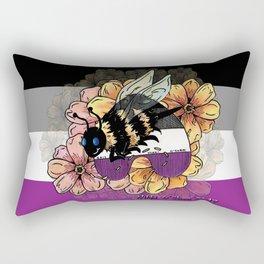 Asexual BumbleBee Rectangular Pillow