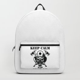 KEEP CALM AND GEAR UP Backpack