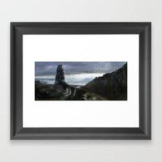 Rock kingdom Framed Art Print
