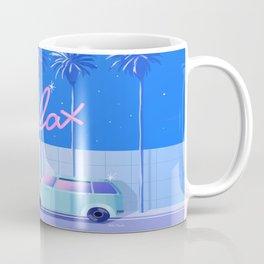 Relax (Blue) Coffee Mug