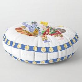 Shiva - Parvati Dance Floor Pillow