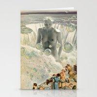 bath Stationery Cards featuring THE BATH by Julia Lillard Art