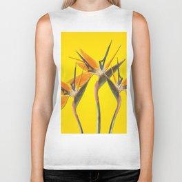 strelitzia - Bird of Paradise Flowers II Biker Tank