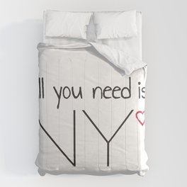 All you need is NY Comforters