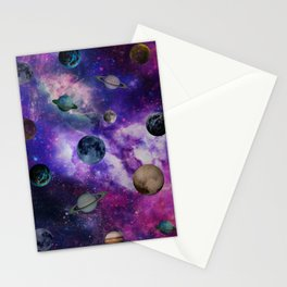 Sideral Space Stationery Cards