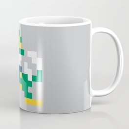 8bit Notre Dame Logo Coffee Mug