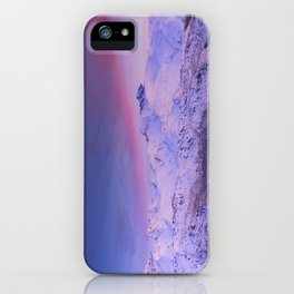 Sierra Nevada mountains. More than 3000 meters hight iPhone Case