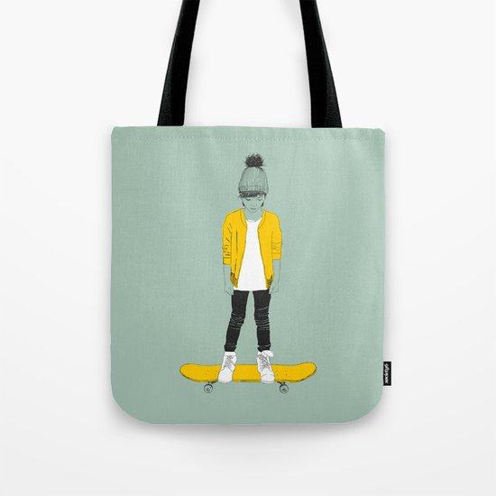 Skater Kid Tote Bag