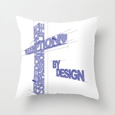 By Design Throw Pillow