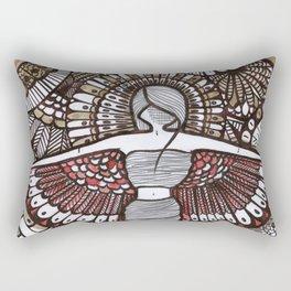 Freedom Feeling Rectangular Pillow