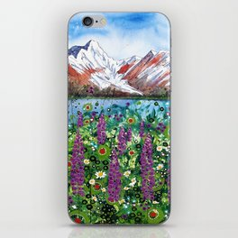 Carpathian in Lupine iPhone Skin